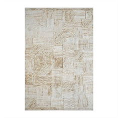 Junction Beige Hand Woven Rug Swatch