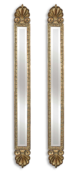 Juniper Antique Gold Mirrors Set/2