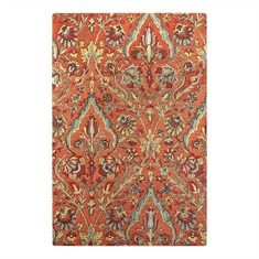 Keziah Burnt Red Hand Tufted Rug Swatch