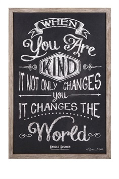 Kindness Changes The World