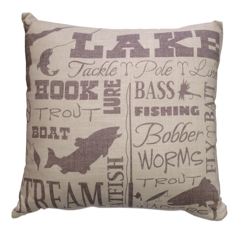Crestwood Lake Pillow