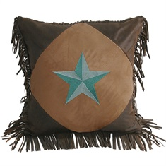 Laredo Diamond Star Pillow