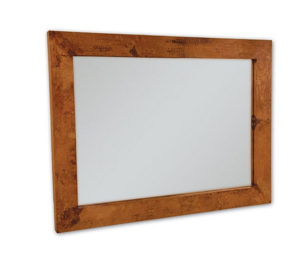 Large Rectangle Copper Mirror