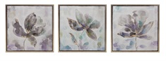 Larissa Framed Oil Paintings - Ast 3