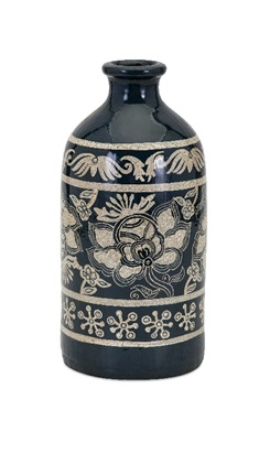 Laural Small Hand-painted Vase