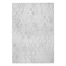 Leda Ivory Hand Tufted Rug Swatch