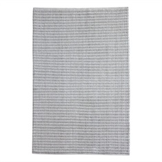 Linea Gray Ivory Hand Woven Rug Swatch