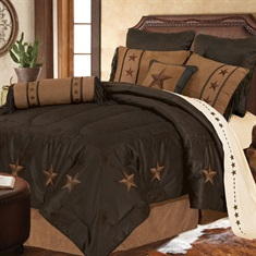 Laredo Chocolate Comforter Set