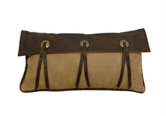 Laredo Long Star Concho Pillow