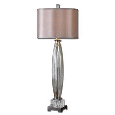 Loredo Mercury Glass Table Lamp