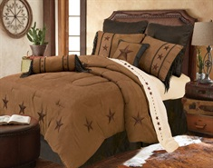 Laredo Tan Comforter Set