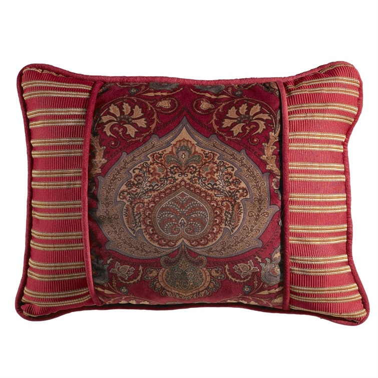 Lorenza Printed Velvet Pillow