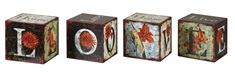 Love Letters Decorative Boxes, Set/4