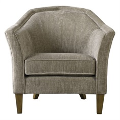 Luca Fabric Accent Chair
