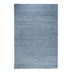 Luxor Charcoal Hand Woven Rug Swatch