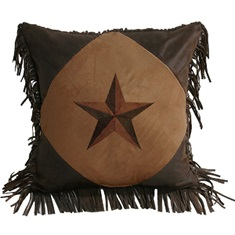 Luxury Star Square Pillow