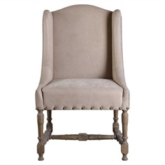 Lyra Leather Accent Chair