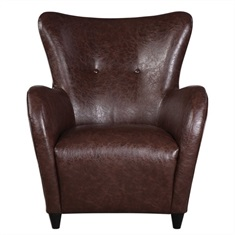 Lyric Leather Accent Chair