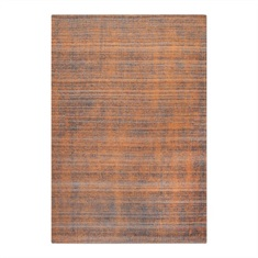 Medanos Burnt Orange Striped Rug Swatch