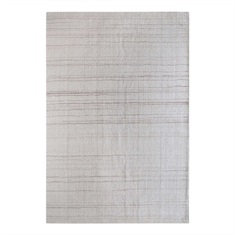 Medanos Ivory Striped Rug Swatch