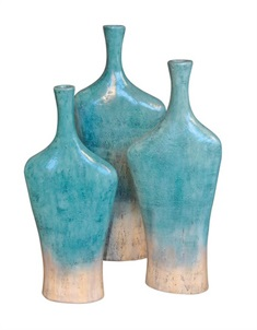 Melrose Table Vases, S/3