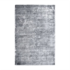 Messini Silver Hand Woven Rug Swatch