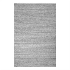 Midas Light Gray Hand Woven Rug Swatch