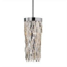 Millie 1 Light Chrome Mini Pendant