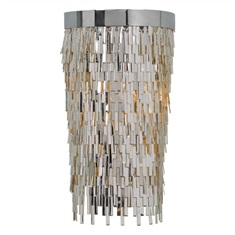 Millie 1 Light Chrome Sconce