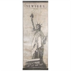 Miss Liberty Canvas Art