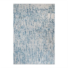 Mojito Gray Blue Hand Woven Rug Swatch