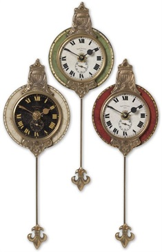 Monarch Wall Clock Set/3