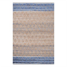 Norman Blue Hand Woven Rug Swatch