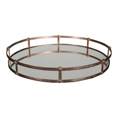 Nunzio Mirrored Tray