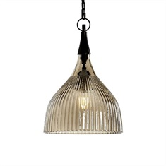 Nuvolo 1 Light Glass Mini Pendant