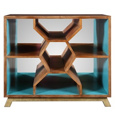 Palash Bookcase Console