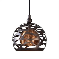 Parth 1 Light Bronze Mini Pendant