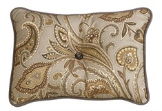 Piedmont Paisley Tufted Pillow