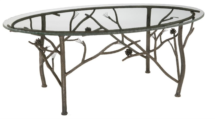 Pine Iron Coffee Table