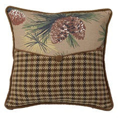 Crestwood Pinecone Envelop Pillow