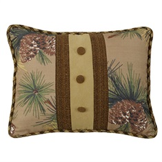 Crestwood Pinecone Pillow