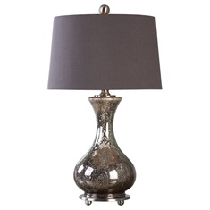 Pioverna Mercury Glass Table Lamp