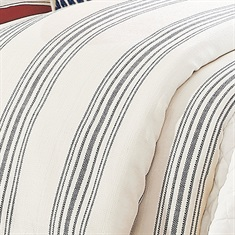 Prescott Navy 1 PC Duvet