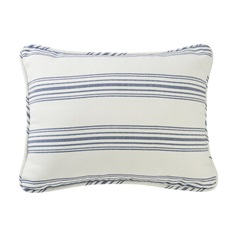 Prescott Navy Pillow Sham