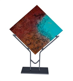 Quatro Square Table Art Decor