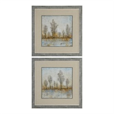 Quiet Nature Landscape Print S/2