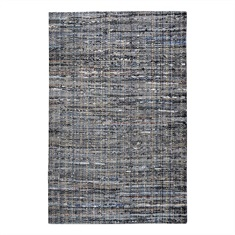 Ramey Blue Gray Hand Woven Rug Swatch