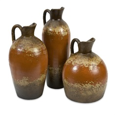 Ramos Terracotta Pitchers - Set of 3
