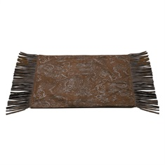 Red Rodeo Faux Tooled Leather Placemats