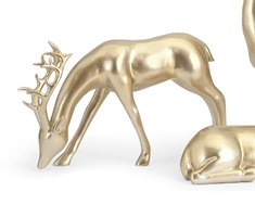 Reindeer- Gold -Left